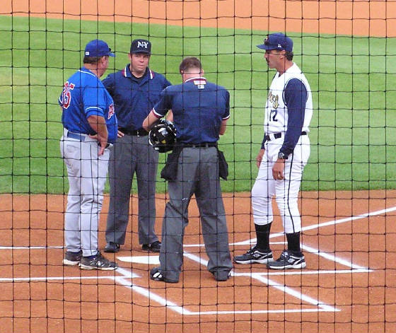 Exchanging the Line Ups - Lubrano Park @ Medlar